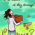 Le blog déménage !