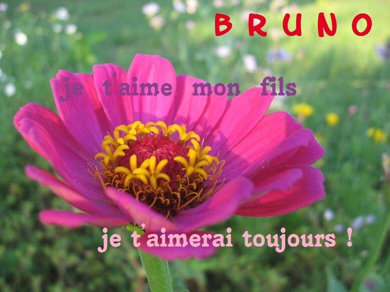 Je Taime Bruno Tu Me Manques Tellement Blog Souvenir