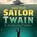 Sailor twain, ou la sirène dans l'hudson, de mark siegel, éditions gallimard jeunesse, 2013