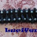 Layered loops, bambou et flat spiral stitch