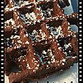Mini-gaufres au chocolat façon martha stewart