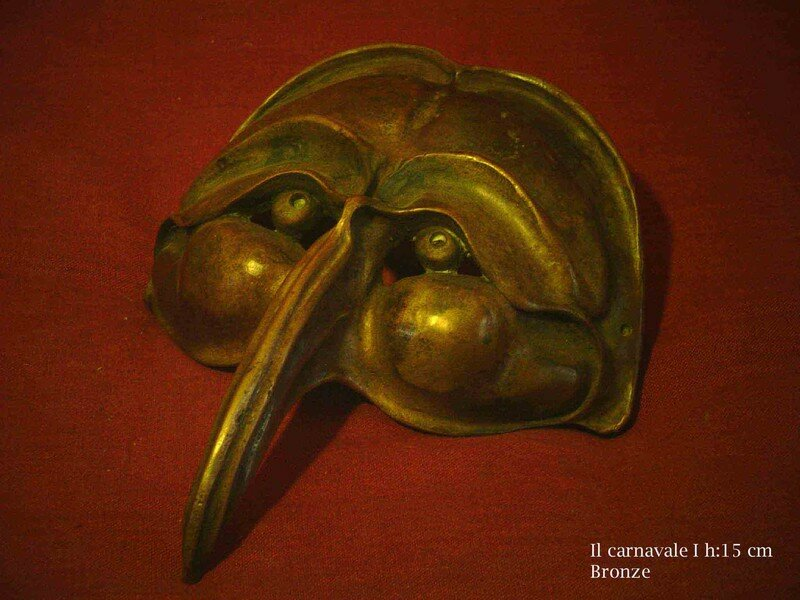01-Il carnavale I (bronze)