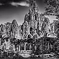 Images of forgotten mayan and khmer ruins captured by william frej on view at peyton wright gallery