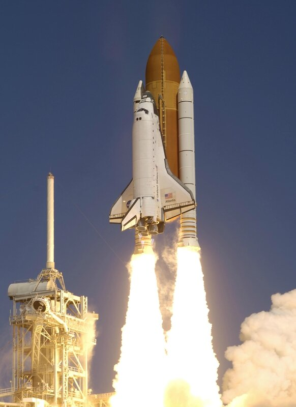 ShuttleAtlantis_launch