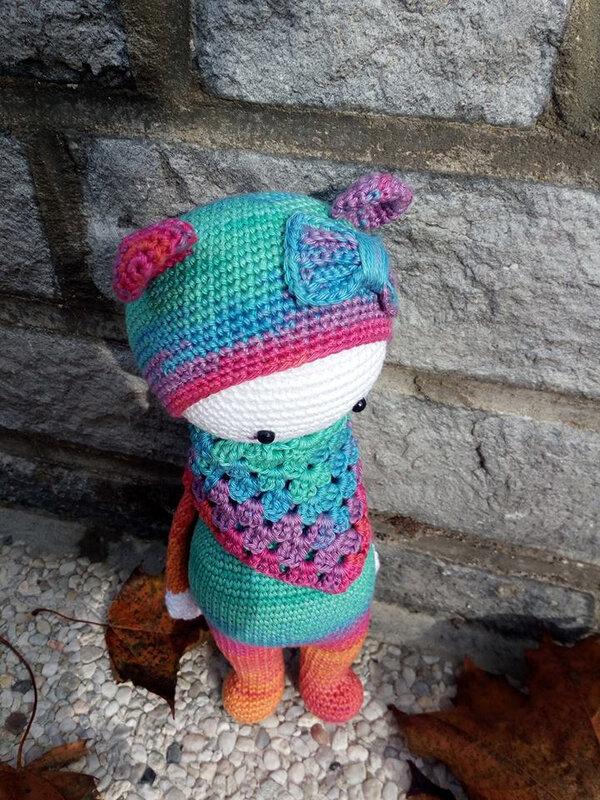 29d - Nounours multicolore