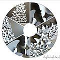 diy deco epuree pour noel : un sapin papillon ! et comment utiliser une machine à découper pour le scrap ?
