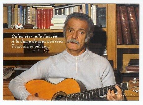 CPM Georges Brassens