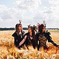 Collection d'accessoires de costumes pagan de mandzou: les 3 ames du dolmen