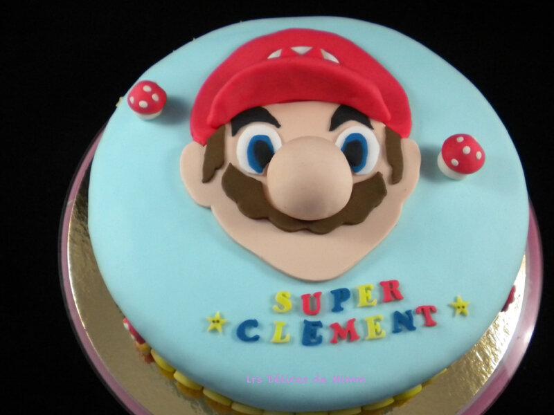 Gâteau Super Mario 3