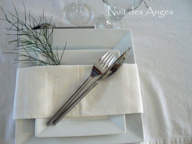 Nuit des anges décoratrice de mariage décoration de table rose et vert 023