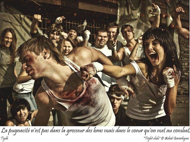 La pugnacité n'est pas dans la grosseur des bras mais dans le coeur qu'on met au combat
