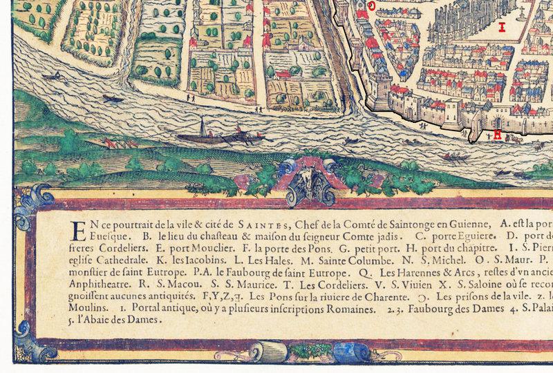 11 décembre 1484 LETTRES DU ROI CHARLES VIII RELATIVES AUX FORTIFICATIONS DES PORTES DE SAINTES d