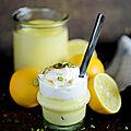 Crème au citron bergamote