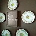collection service aux roses à l'Anglaise - création ©marimerveille