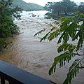 Quel est l'impact des intempéries sur rivière pilote