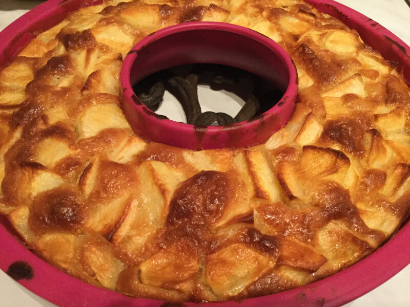Gâteau aux pommes 🍎 Thermomix