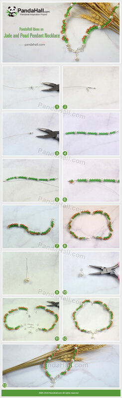 1-PandaHall-Ideas-on-Jade-and-Pearl-Pendant-Necklace