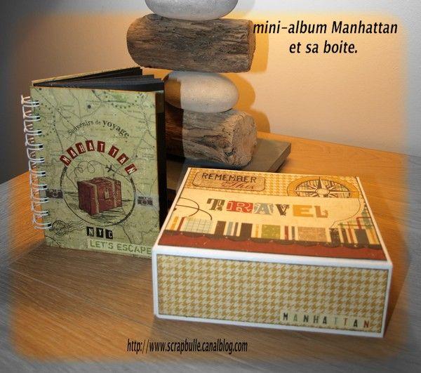 mini-album Manhattan et sa boite-1