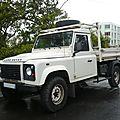 LAND ROVER Defender benne Saint Pierre (1)