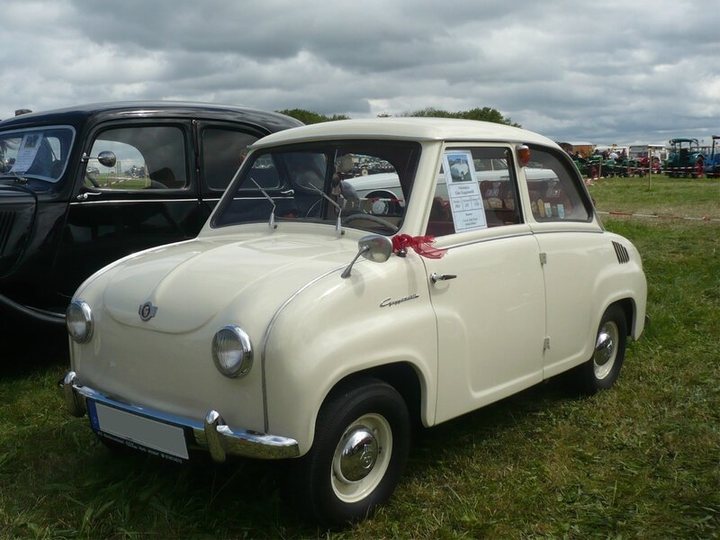 GLAS Goggomobil TS250 berline 1961 Eutingen (1)