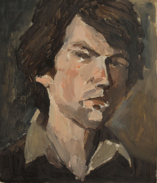 Autoportrait 38x32cm1