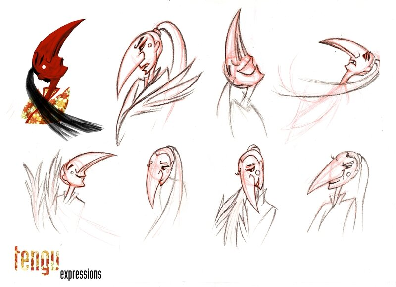 character design laura expressions