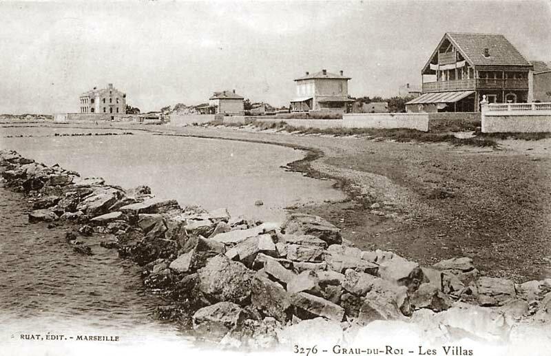Grau du Roi Château Leenhardt vue de loin