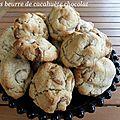 Cookies beurre de cacahuètes chocolat