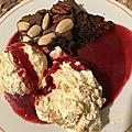 Brownie chocolat amandes et noix de pécan
