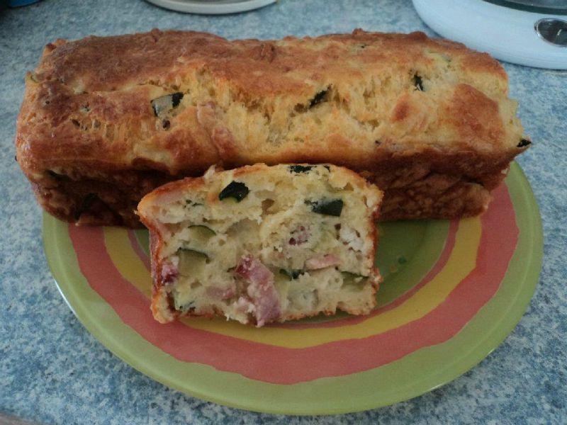 Cake Au Chevre Sans Gruyere