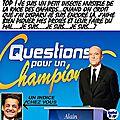 Questions pour juppé, le champion de la primaire !