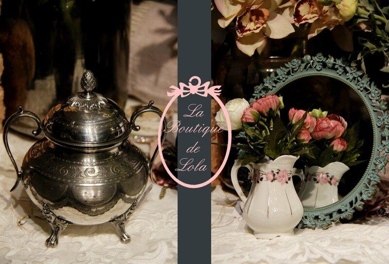 Sucrier ou boite à bijoux? Pot à lait ou vase?