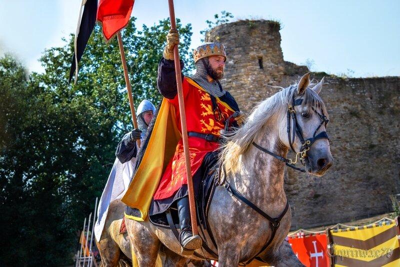 Richard Cœur de Lion - Aliénor d'Aquitaine - Château de Talmont - Cie Capalle (3)