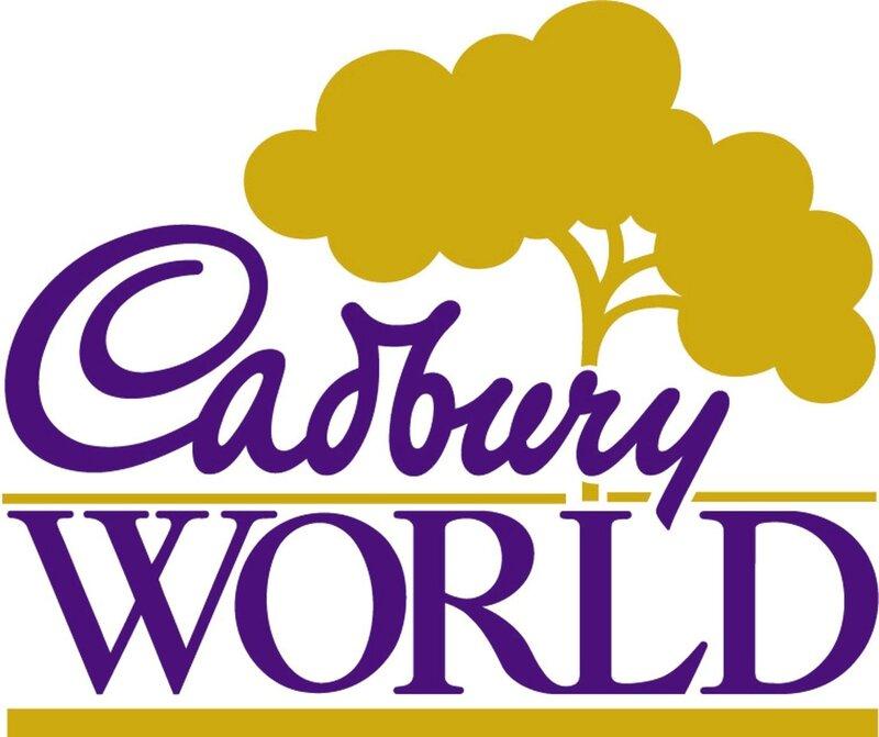 Cadbury World Logo chez gloewen et scrat