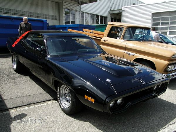 plymouth road runner hardtop coupe 1971 a