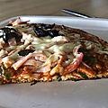 Pizza sans pate et sans gluten