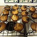 Muffins au mascorpone et chocolat