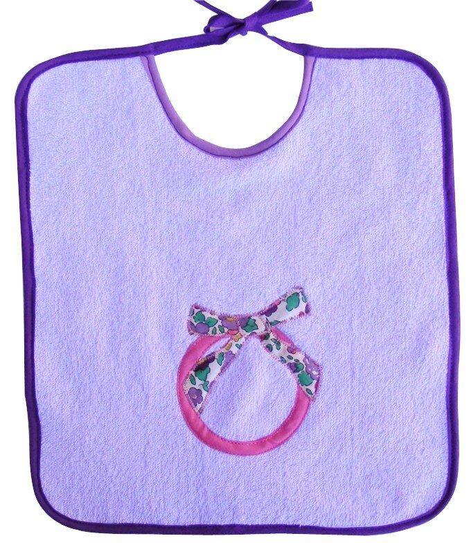 bavoir anneau + noeud pour Dorit