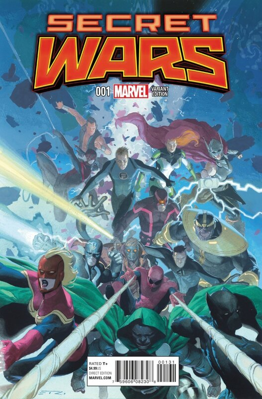 secret wars 1 variant