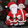 Bécassine et le père Noël, à poser.