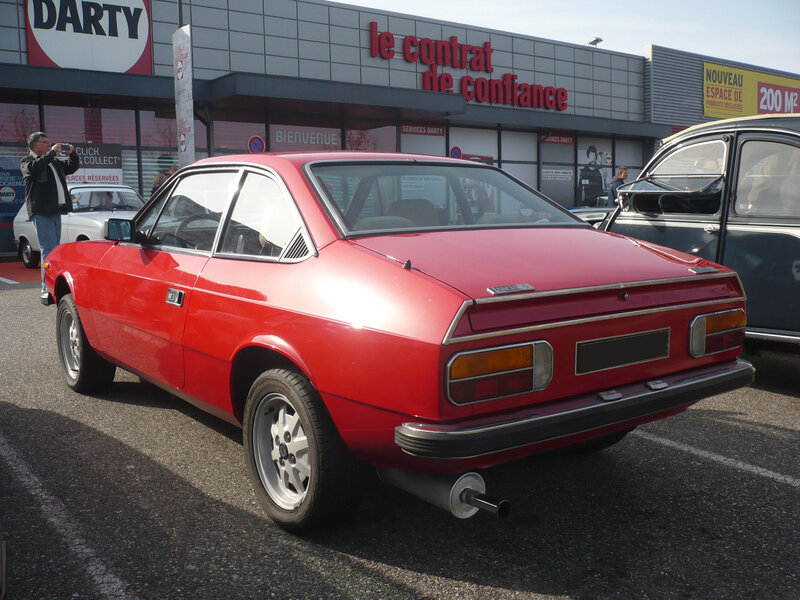 LANCIA Beta coupé 1300 Mulhouse (2)