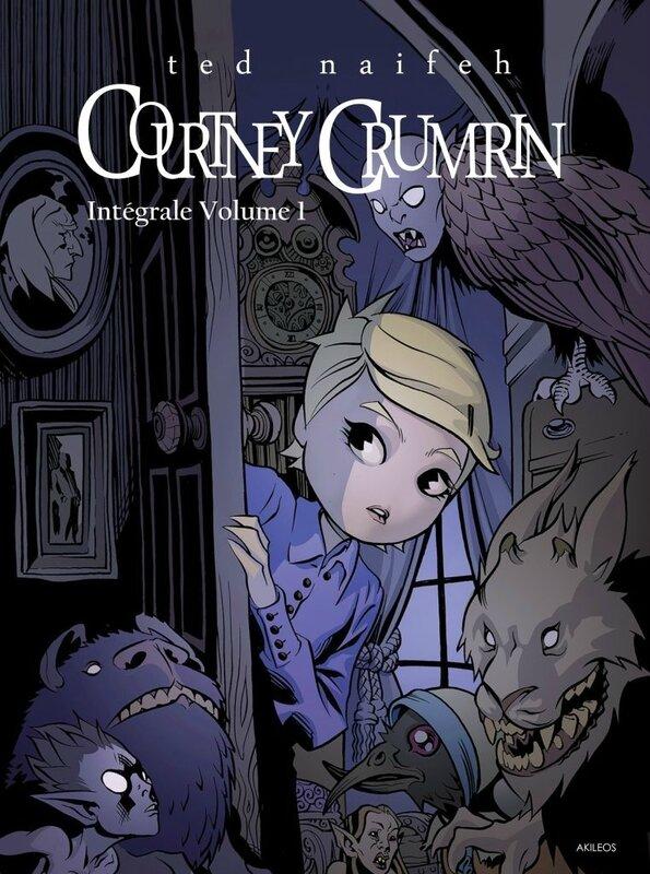 akileos courtney crumrin intégrale 01