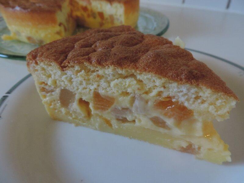 Gâteau magique aux fruits (12)
