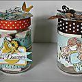 Des pots pour petites douceurs