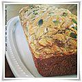 Cake poulet, olives vertes et chèvre {sans gluten}