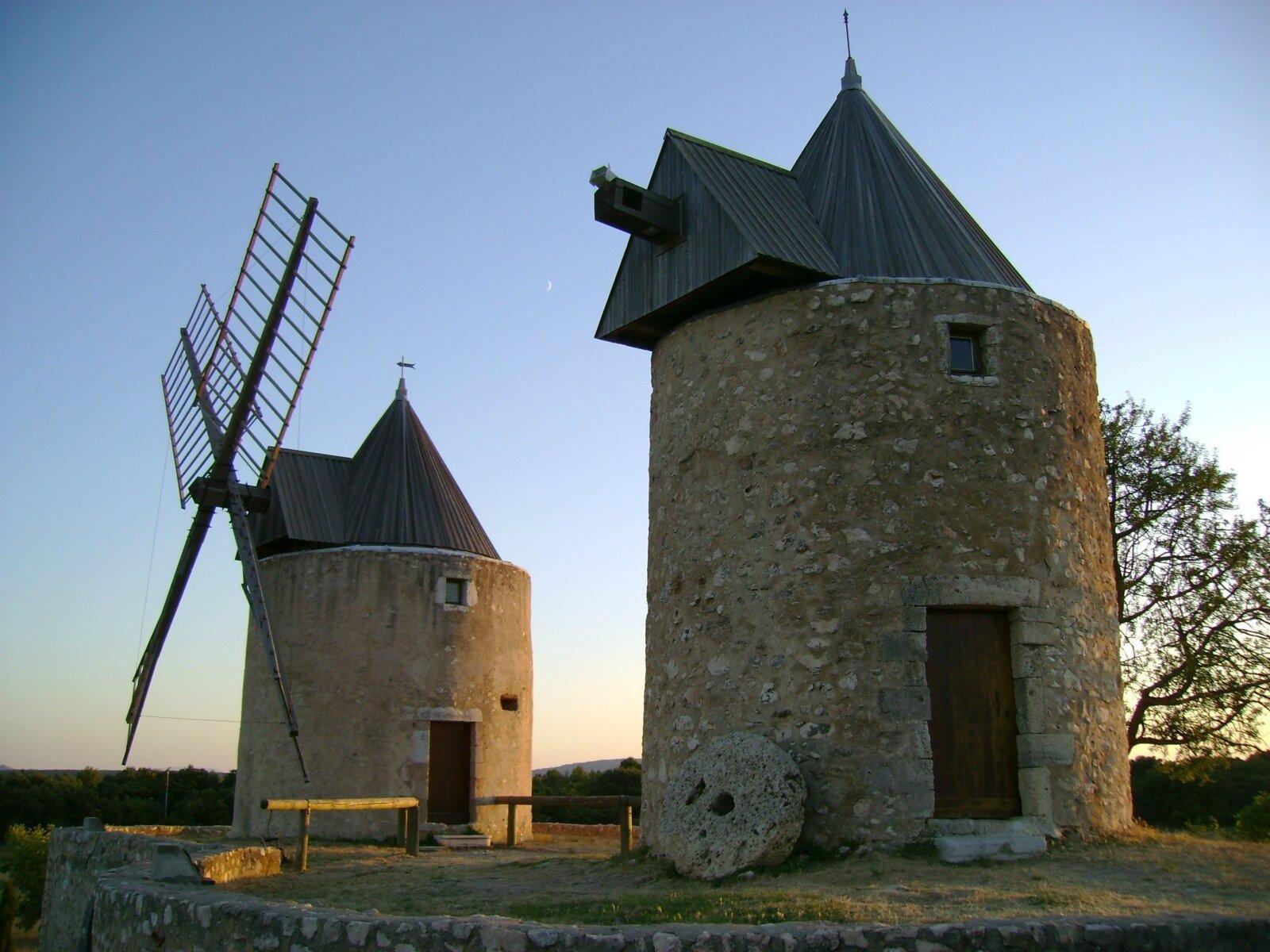 Les moulins à vent dans le Midi