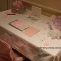 Table livre d'or mariage