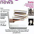 Littérature & internet : bsc news magazine