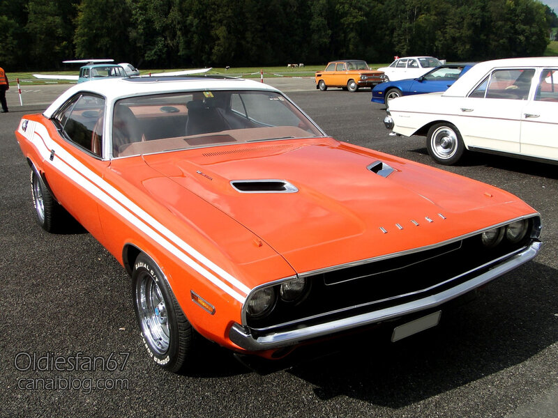 Dodge Challenger hardtop coupe-1970-01