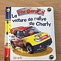 Nous avons découvert la voiture de rallye de charly